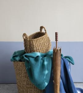 Batik Boyalı Pike Pamuk Yatak Örtüsü